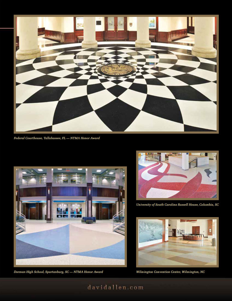 David Allen Company The Standard Of Excellence In Tile